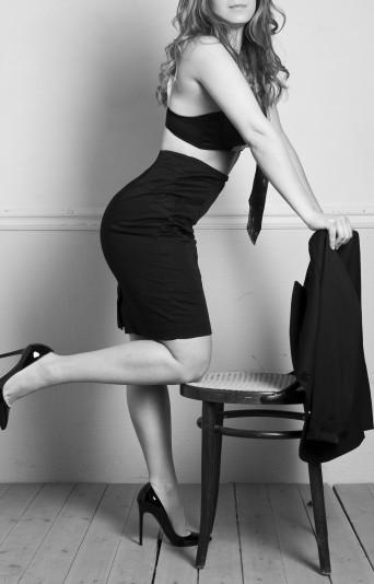 anna high class escort model