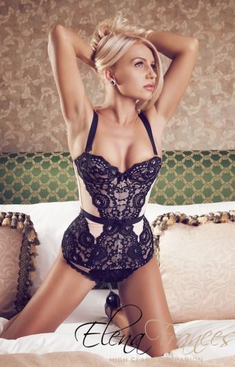 elena deluxe escort model